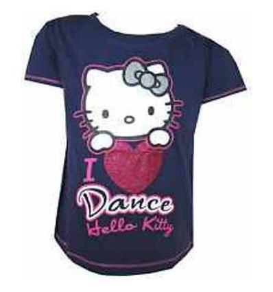 Tricou Hello Kitty I Love Dance