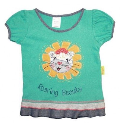 Tricou fete Roaring Beauty Hooligans Kids