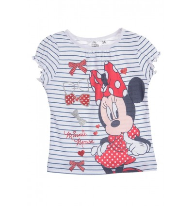 Tricou fete Disney Minnie Bows