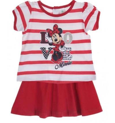 Compleu fetite LOVE Minie Mouse - rosu