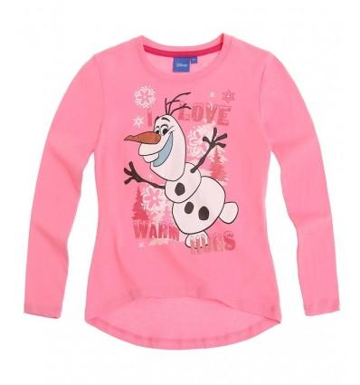 Bluza maneca lunga Olaf Frozen