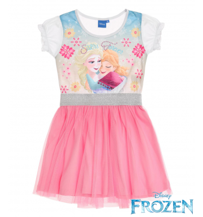 Rochie Frozen Elsa roz