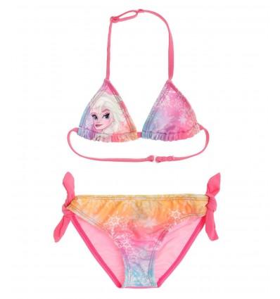 Costum de baie 2 piese Elsa Frozen roz