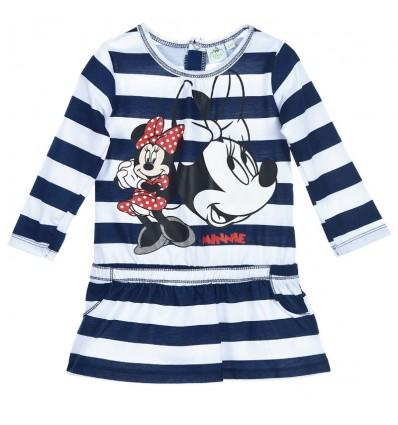 Rochita fetite Minnie Mouse bleumarin