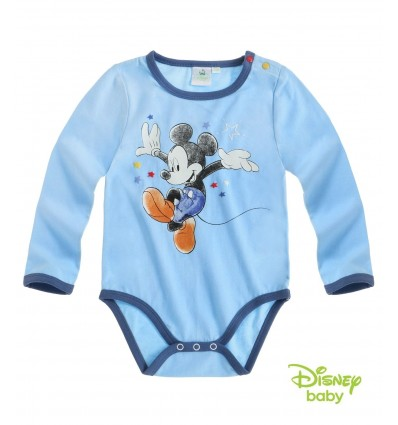 Body Mickey Mouse albastru