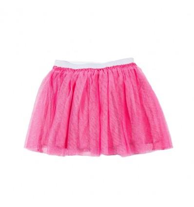 Fusta tulle copii Lamaloli roz