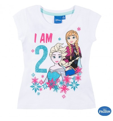 Tricou aniversar Frozen 2 ani