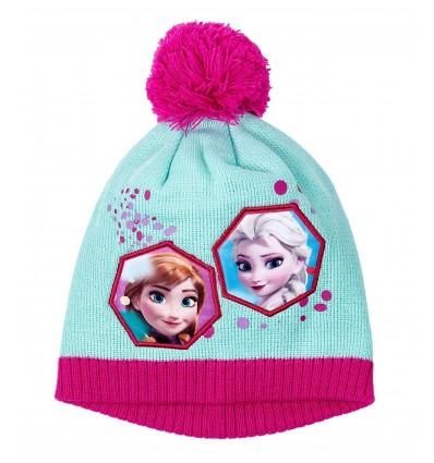 Caciula fete Disney Frozen cu mot