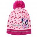 Caciula fete Minnie Mouse inimioare