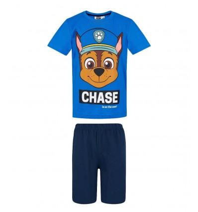 Pijamale copii Patrula Catelusior Chase