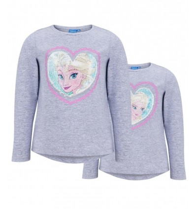 Bluza Disney Frozen cu paiete reversibile