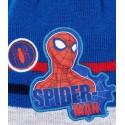 Caciula Spiderman albastru
