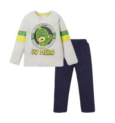 Pijamale baieti PJ Mask gri/bleumarin