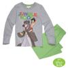 Pijamale copii Cartea Junglei gri/ verde