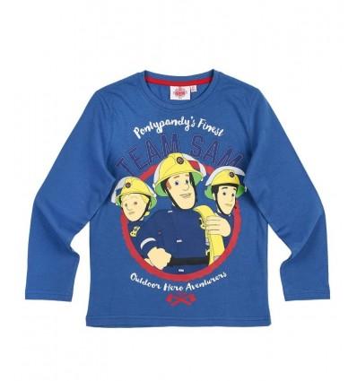 Bluza Pompierul Sam albastru