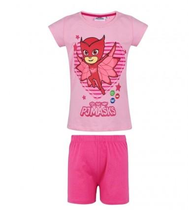 Pijamale fete PJ Masks roz