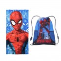 Prosop plaja Spiderman 70 x 140 cm, microfibra