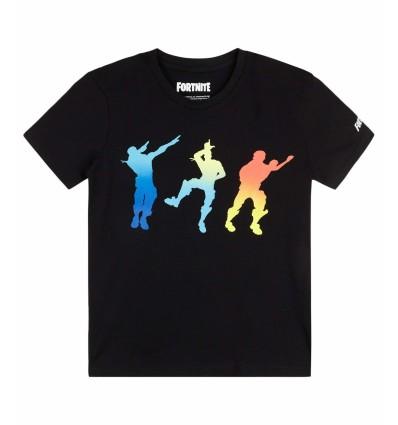 Tricou baieti Fortnite 3DAB negru