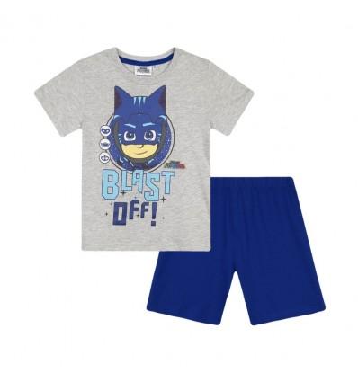 Pijamale PJ masks gri/albastru