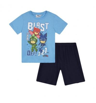 Pijamale PJ Masks bleu/ bleumarin