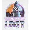Tricou Fortnite Llama Loot alb