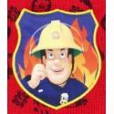 Caciula copii Pompierul Sam rosu