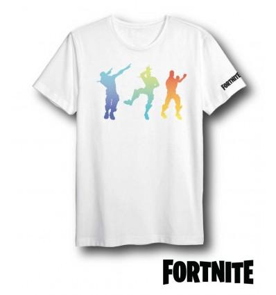 Tricou Fortnite 3DAB alb