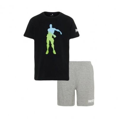 Pijama Fortnite negru/ gri