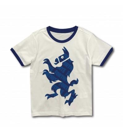 Tricou Fortnite alb/ albastru