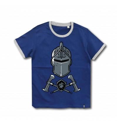 Tricou Fortnite albastru/gri