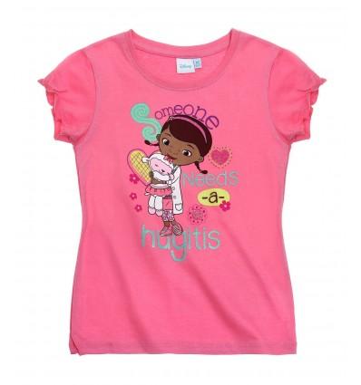 Tricou Doctorita Plusica roz