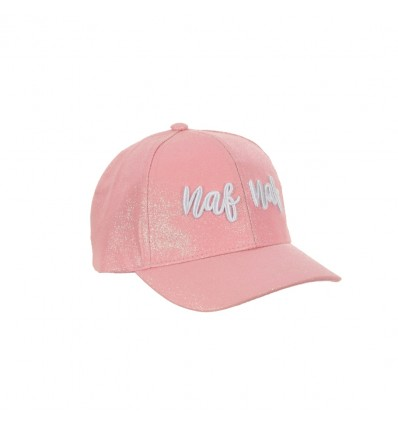 Sapca fete NAF NAF Paris roz
