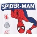 Pijamale maneca scurta Spiderman alb/rosu