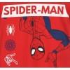 Pijamale maneca scurta Spiderman rosu/albastru