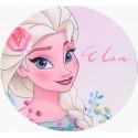 Costum de baie Disney Frozen Elsa, roz pal